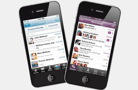 הנמסיס של פייסבוק: אפליקציות צ'ט חינמיות כווטסאפ ו-וייבר