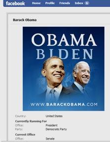 כל המידע שם. דף פייסבוק של קמפיין אובמה-ביידן