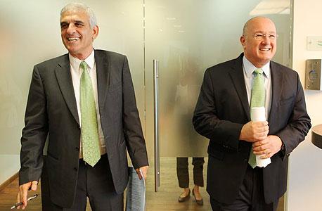 מימין: ראובן שפיגל ויוסי בכר, צילום: עמית שעל