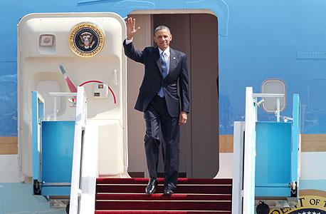 ברק אובמה בביקור בארץ, צילום: איי אף פי