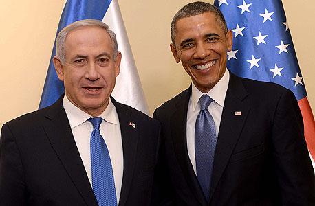 ברק אובמה בנימין נתניהו , צילום: אי פי איי