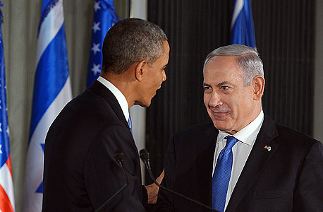 בנימין נתניהו ברק אובמה , צילום: איי אף פי