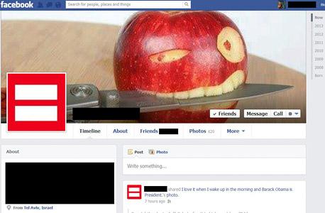 פייסבוק קמפיין זכויות אדם שיוויון
