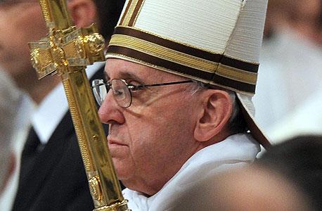 האפיפיור פרנציסקוס, צילום: אי פי איי