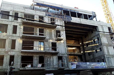 """פרויקט בנייה למגורים ברחובהירקון בת""""א"""