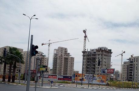 שכונה בבנייה (ארכיון)