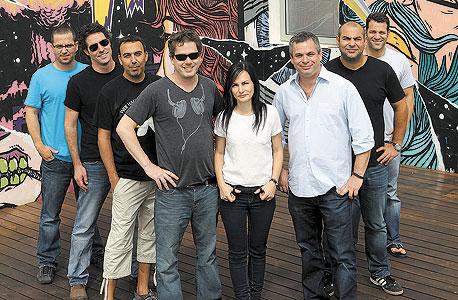 צוות הנהלת וויקס, צילום: עמית שעל