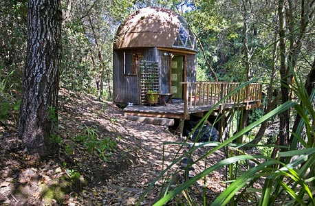 Mushroom Dome Cabin, קליפורניה. קליפורניה. 100 דולר ללילה