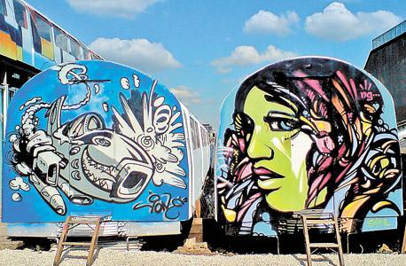 וילג' אנדרגראונד: הופעות ומסיבות. מחירים משתנים בהתאם לאירוע (בתצלום: אמנות רחוב)