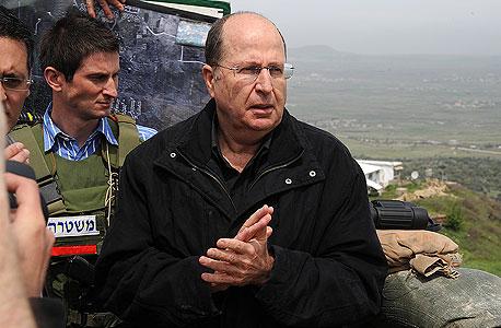 שר הביטחון בוגי יעלון, צילום: אפי שריר