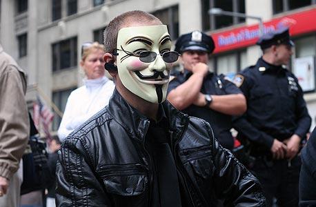 """הפגנות """"כיבוש וול סטריט"""" ב־2011. """"הם הצד הטוב של ההווה התמידי"""""""