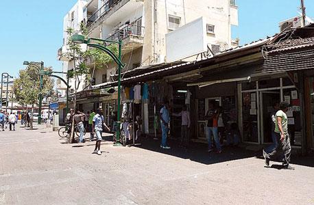 רחוב נווה שאנן בתל אביב