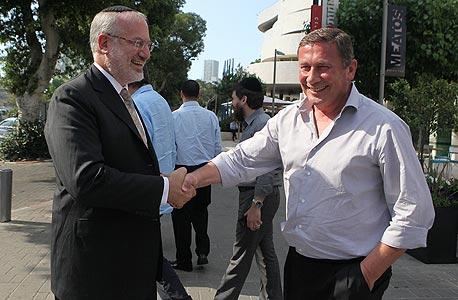 נוחי דנקנר ו אדוארדו אלשטיין, צילום: אוראל כהן