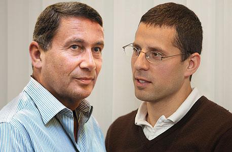 משמאל נוחי דנקנר ג'רמי בלנק, צילום: אוראל כהן