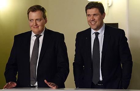 איסלנד נגד הצנע: המפלגות מתקופת הקריסה שבו לשלטון