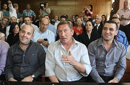 נוחי דנקנר אי די בי בית משפט, צילום: אוראל כהן