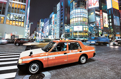 טוקיו, יפן.  ברוב המקרים לא מקובל להשאיר טיפ