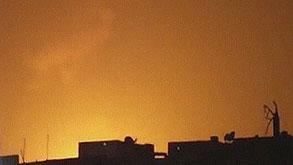 פיצוץ ב סוריה דמשק, צילום: רויטרס