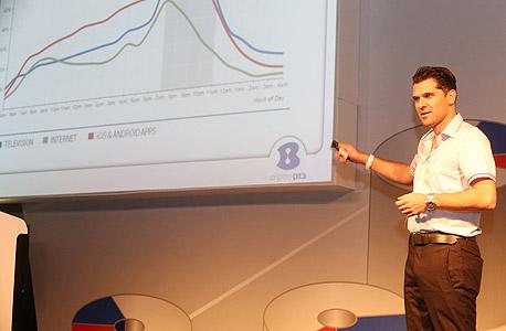 יוסי זיגמון מנהל אגף שירותים ומוצרים בזק ועידה הוועידה לעסקים קטנים ובנוניים , צילום: נמרוד גליקמן