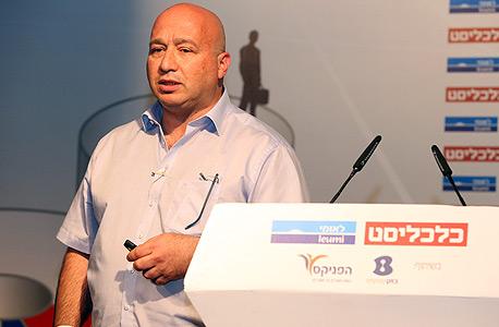 """קובי פז סמנכ""""ל ומנהל החטיבה העסקית בזק ועידה הוועידה לעסקים קטנים ובינוניים , צילום: נמרוד גליקמן"""