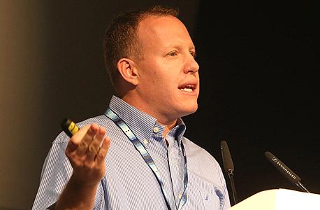 """יובל קינן סמנכ""""ל טכנולוגיות ורשת בזק ועידה הוועידה לעסקים קטנים ובינוניים , צילום: נמרוד גליקמן"""