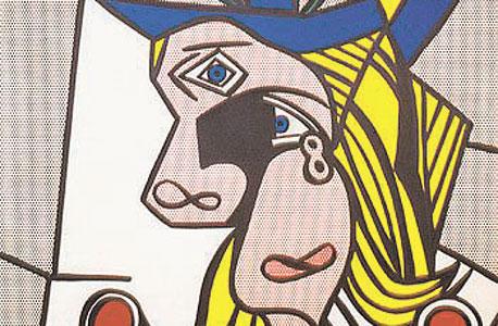 """""""Woman with Flowered Hat"""", של רוי ליכשטנשטיין. כ־30 מיליון דולר, ציור: רוי ליכשטנשטיין"""