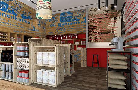 חנויות הקפה של לנדוור. השקעה של 750 אלף שקל