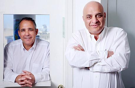 מימין שאול ודורי נאוי, מייסדי קבוצת נאוי, צילום: עמית שעל