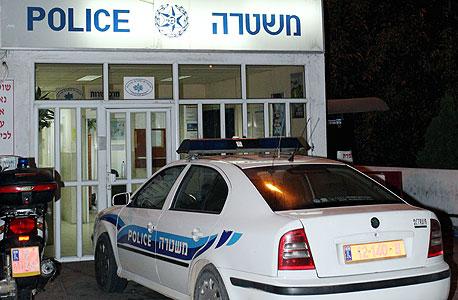 תחנת משטרה, צילום: גיל נחושתן