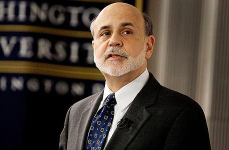 מוסף השקעות בן ברננקי נגיד ה בנק ה מרכזי ה אמריקאי, צילום: בלומברג
