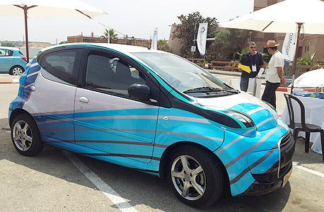 מכונית חשמלית שפיתח אביב צידון