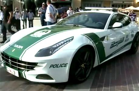 מכונית של משטרת דובאי