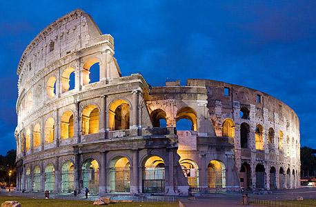 הקולוסאום ברומא. הקצו לפחות שלושה ימים לביקור בערים הגדולות
