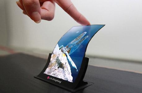 LG מסכים גמישים OLED