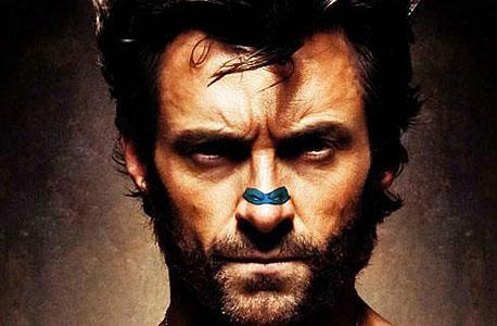 וולברין נראה הרבה יותר קשוח עם נינג'ה על האף