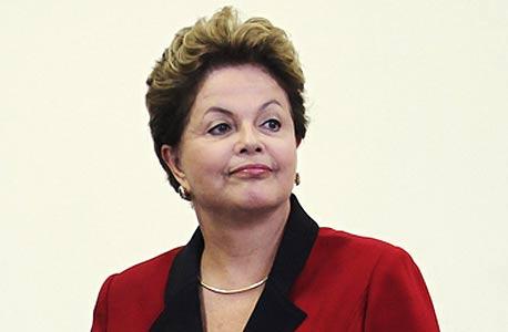 4. נשיאת ברזיל, דילמה רוסף, צילום: רויטרס