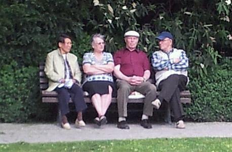 זקנים זיקנה פנסיה, צילום: דוד הכהן