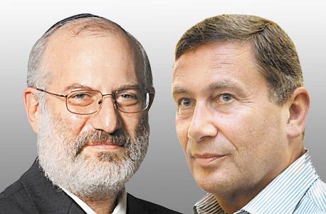 מימין נוחי דנקנר אדוארדו אלשטיין, צילום: אוראל כהן