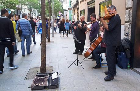 מדרחוב במדריד