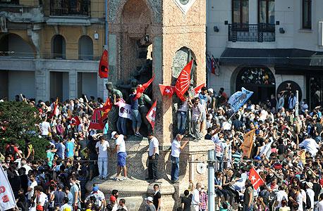 ההפגנות באיסטנבול