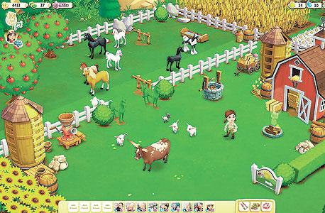 החווה בוערת. פארמוויל 2 של זינגה