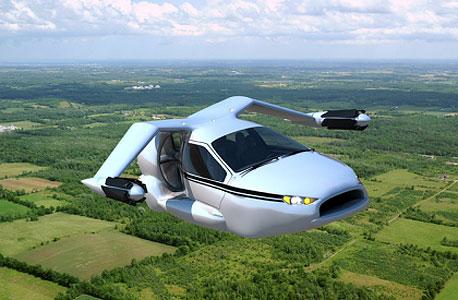 מכונית מעופפת Terrafugia, צילום: Terrafugia