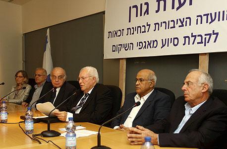 ועדת גורן ל בחינת זכאות נכי צהל, צילום: אריאל בשור