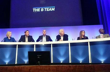 שרי אריסון וריצ'רד ברנסון באירוע ב לונדון