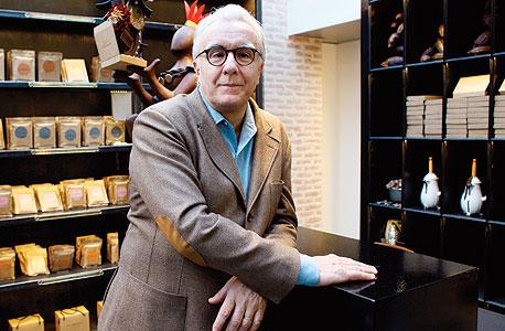 דוכאס בחנות של בית השוקולד שלו, צילום: איי אף פי
