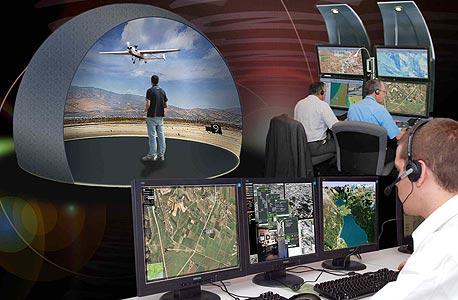 """מאמן משימה מתקדם לאימון מפעילי מל""""ט התעשייה האווירית תעשייה אווירית"""