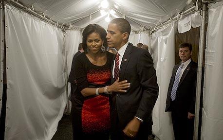 """ברק אובמה נשיא ארה""""ב מאחורי הקלעים אלבום פליקר, צילום: barackobamadotcom cc-by-nc-sa"""