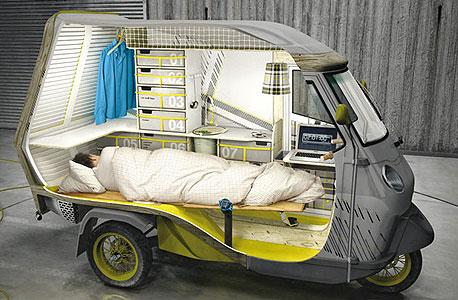 תלת אופן בית על גלגלים, צילום: Hi Consumption