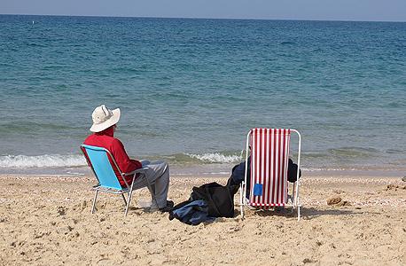 חוף פלמחים, צילום: דב גרינבלט
