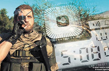 Metal Gear Solid V — The Phantom Pain. מתאים לדור הנוכחי והבא של פלייסטיישן ואקסבוקס